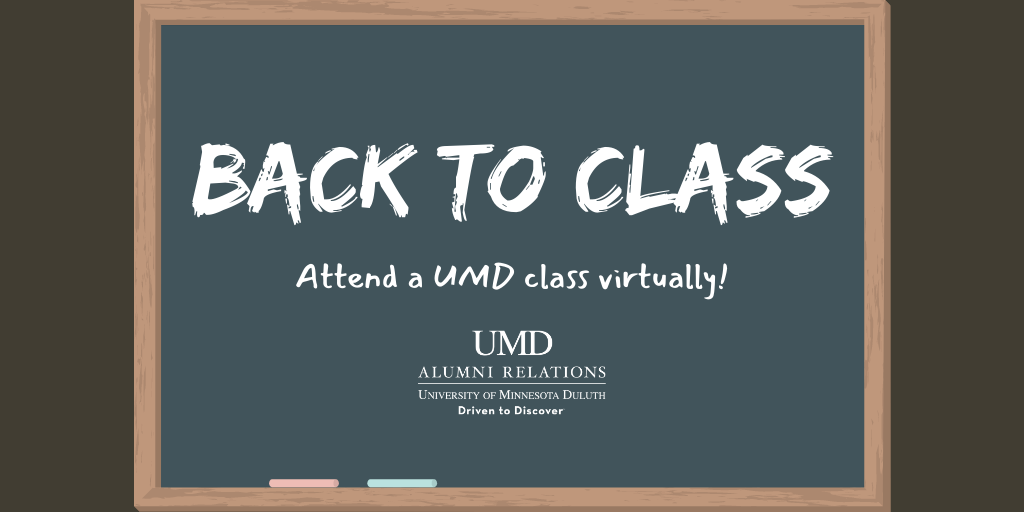 Back to Class! Attend a UMD class virtually!